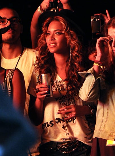 Beyonce  attends Day 1 of the Coachella Valley Music & Art Festival 2010 held at the Empire Polo club