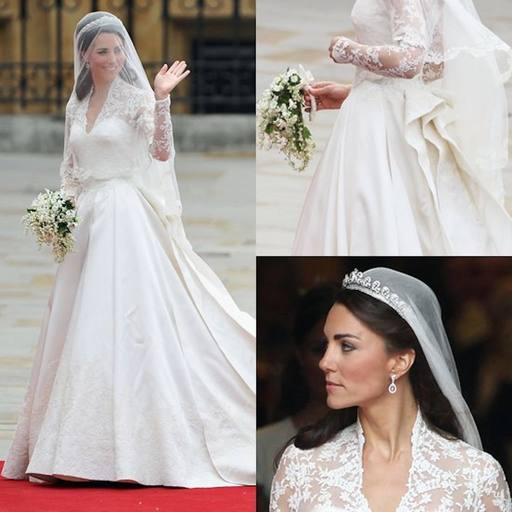 Kate Middleton\'s Wedding Dress | POPSUGAR Fashion Middle East