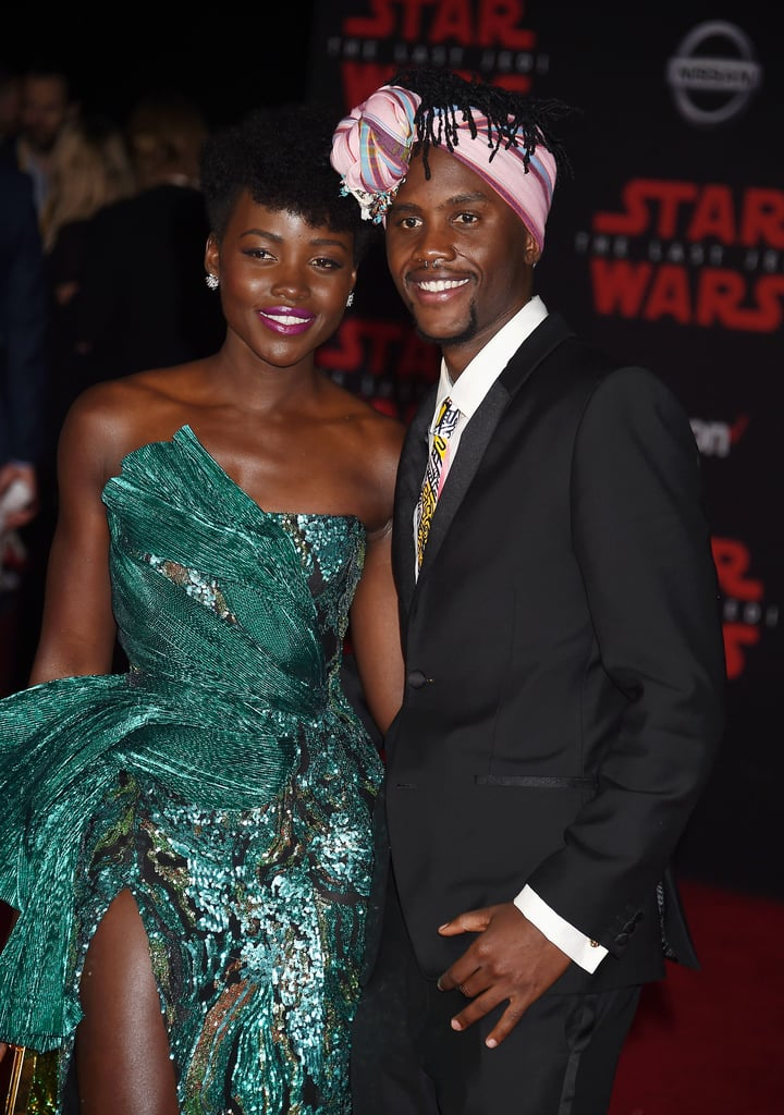 Pictured: Lupita and Peter Nyong'o