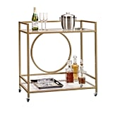 Sauder International Lux Bar Cart