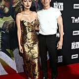 Christian Serratos and David Boyd