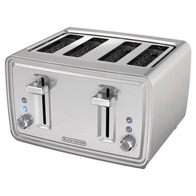 Black + Decker 4 Slice Toaster