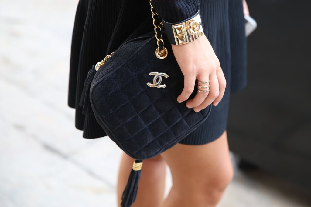 A quilted Chanel.