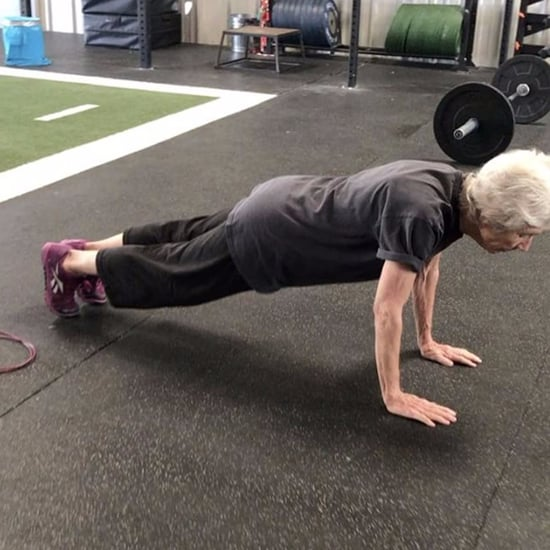 77-Year-Old Woman Doing CrossFit