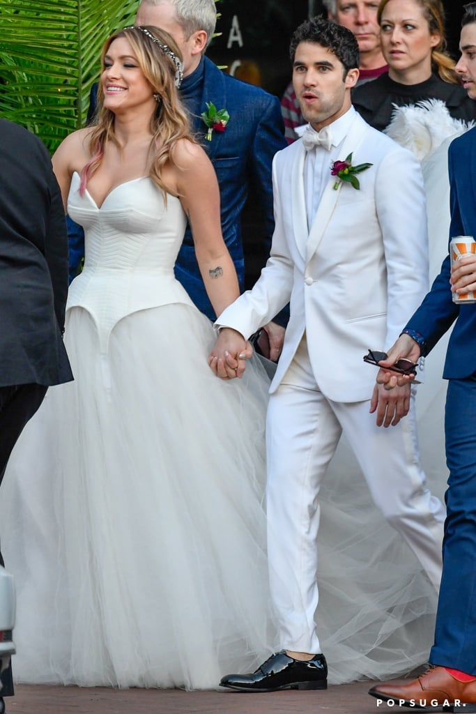 Mia Swier's Corset Wedding Dress