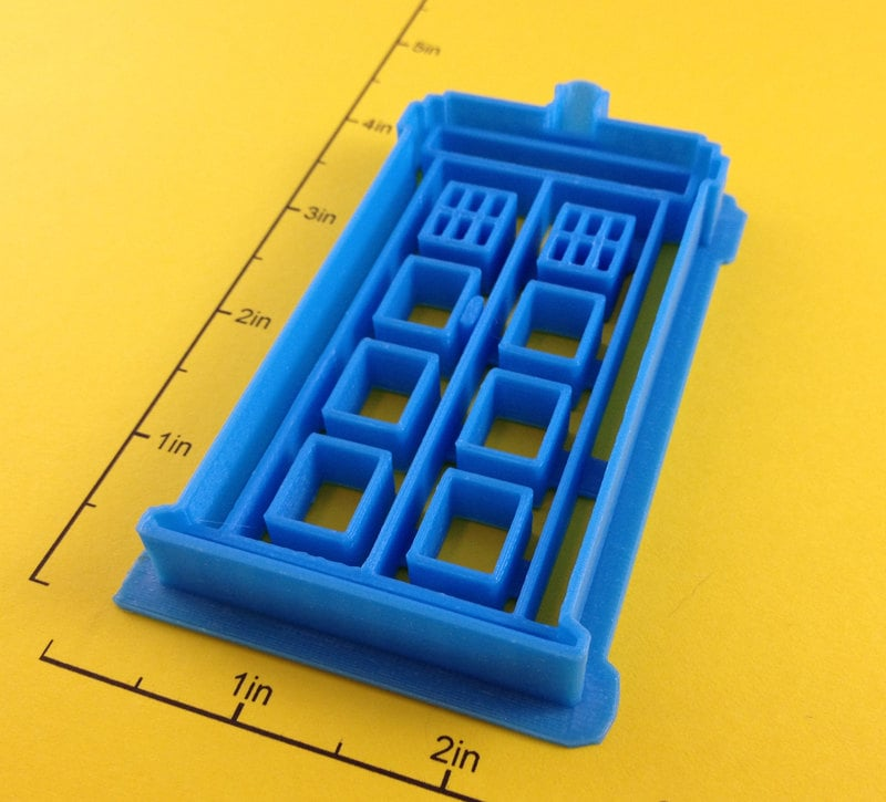 TARDIS Cookie Cutter