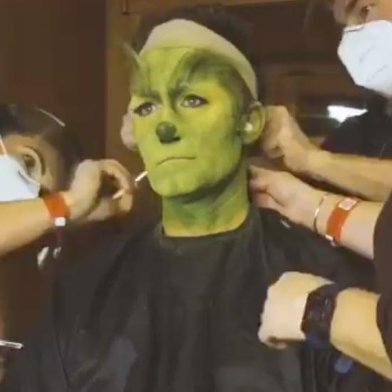 Watch Matthew Morrison Transform Into the Grinch | Video