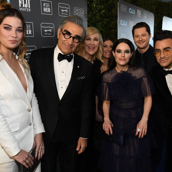 See Photos of the Schitt's Creek Cast at Critics' Choice