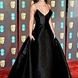 Amy Jackson at the 2019 BAFTA Awards