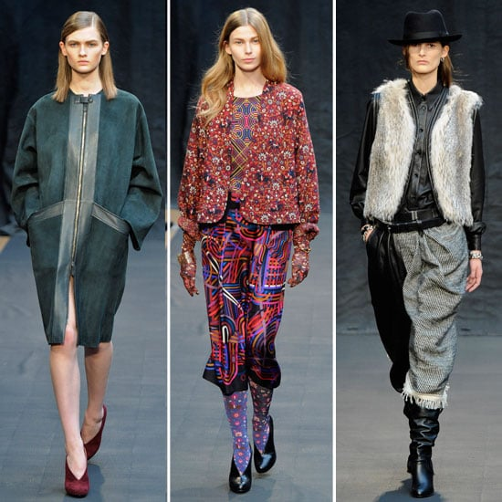 Review and Pictures of Hermes Autumn Winter 2012 Paris Fashion Week Runway Show