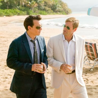 Movie Review of Johnny Depp, Amber Heard and Aaron Eckhart in The Rum Diary