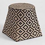 Two Tone All Weather Wicker Harare Outdoor Stool