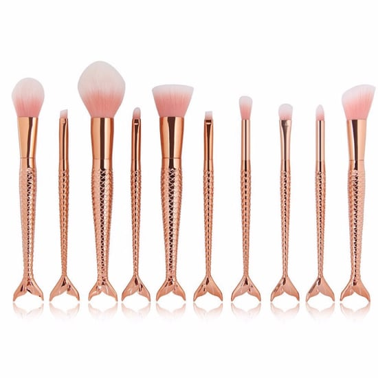 Mermaid Makeup Brushes on Amazon