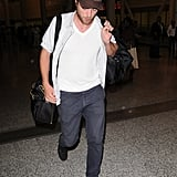 Robert Pattinson wore a San Diego Padres hat.