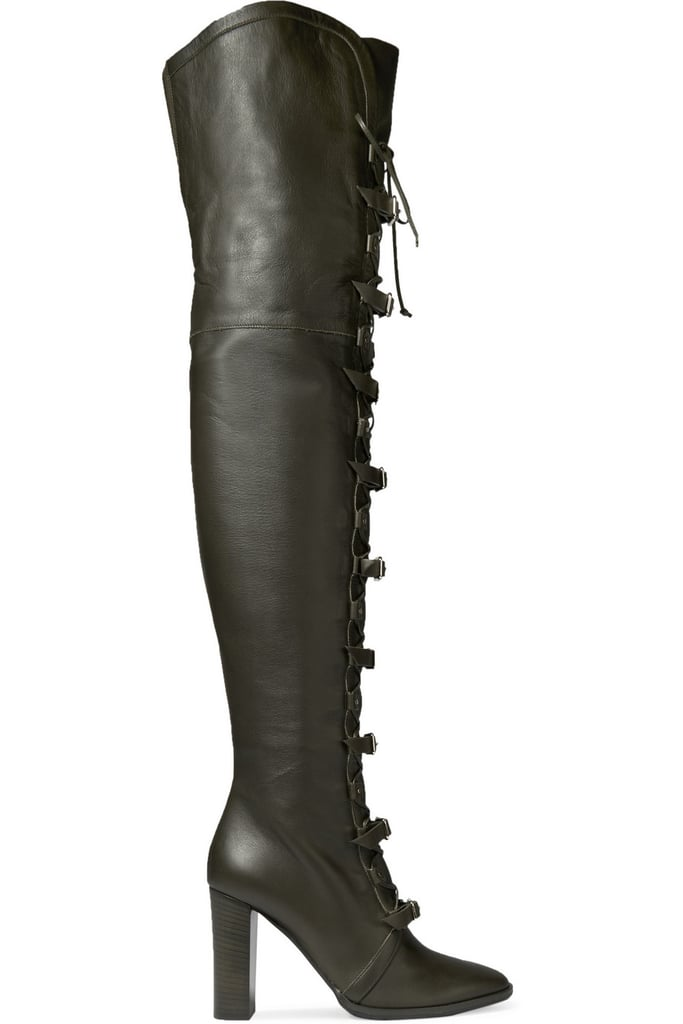b5dfa898d9d1 Jimmy Choo Maloy Leather Over-the-Knee Boots ($2,395) | Fall Shoe ...