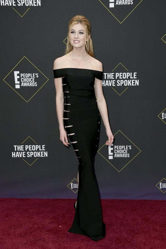Katherine McNamara at the 2019 People's Choice Awards