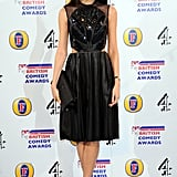 Gemma Chan at the 2013 British Comedy Awards