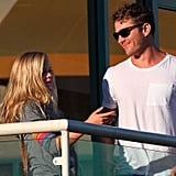 Ryan Phillippe took Ava to a nail salon.