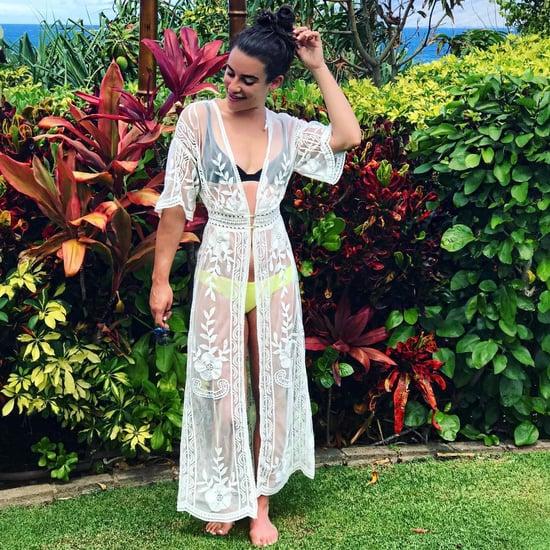Lea Michele Swimsuits 2018