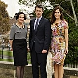 Frederik and Mary met with NSW Governor Marie Bashir in Sydney during their Australian tour in Nov. 2011.
