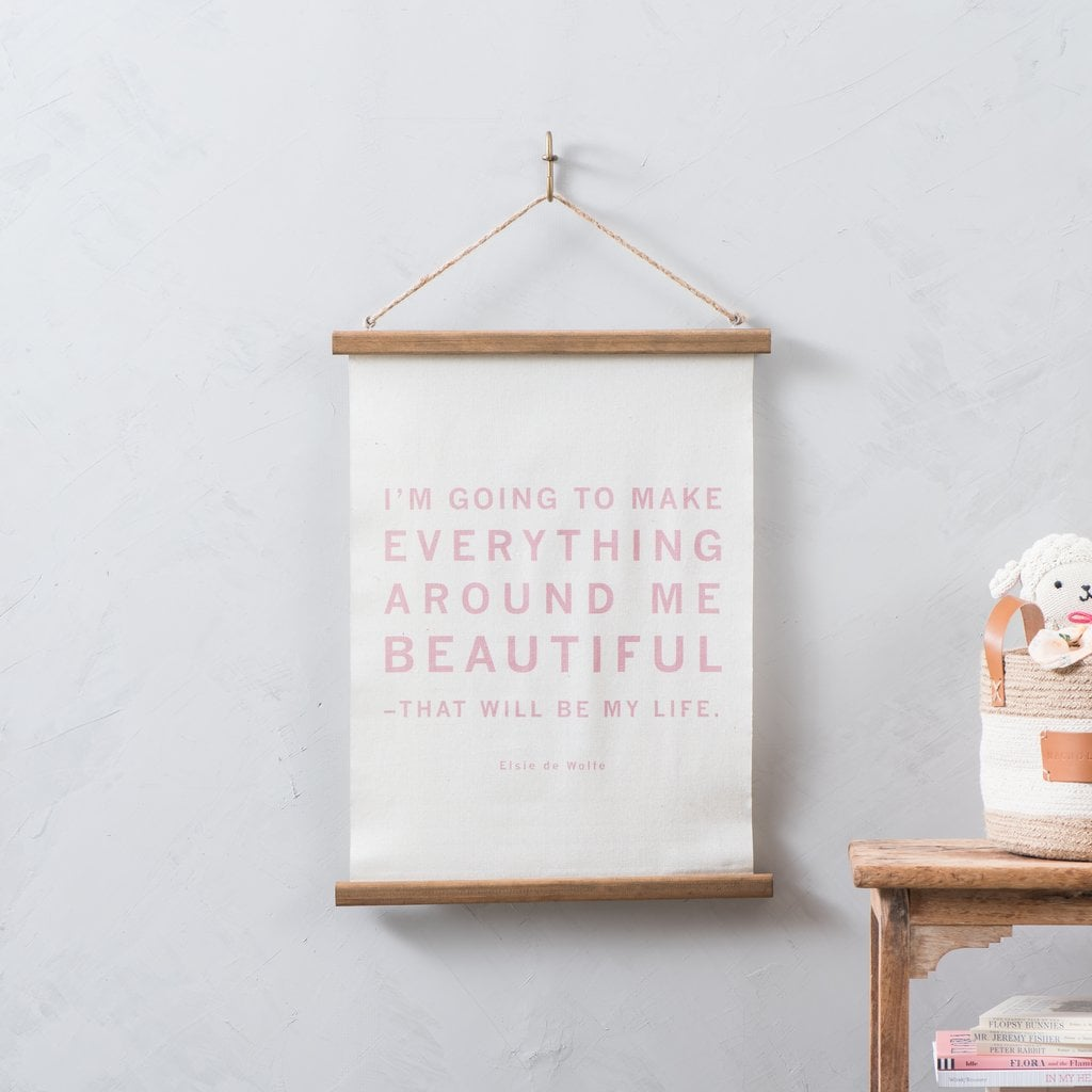 """""""Everything Around Me"""" Hanging Wall Scroll"""