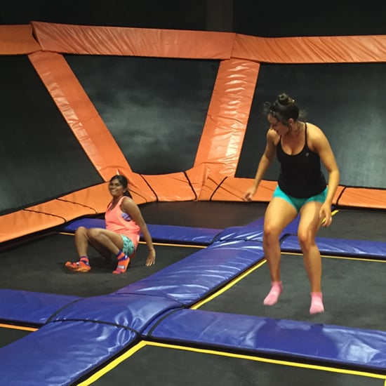 Trampolining for Fitness Video