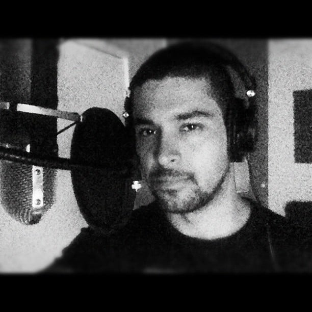 Wilmer Valderrama hit the studio. Source: Instagram user wilmervalderrama