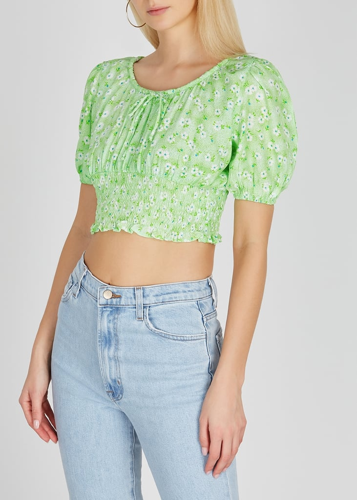 Faithfull the Brand's Anne Laure Floral-Print Cropped Top