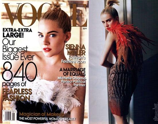 Happy Sienna Shines In September Vogue
