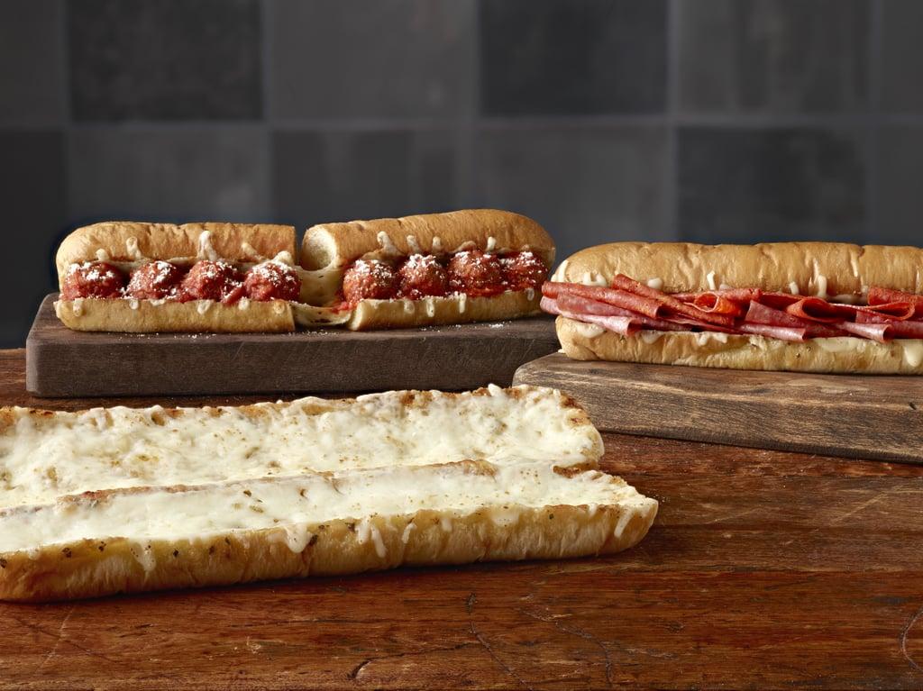 Subway Cheesy Garlic Bread Popsugar Food