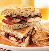 Healthy Balsamic-Glazed Chicken and Bell Pepper Sandwiches