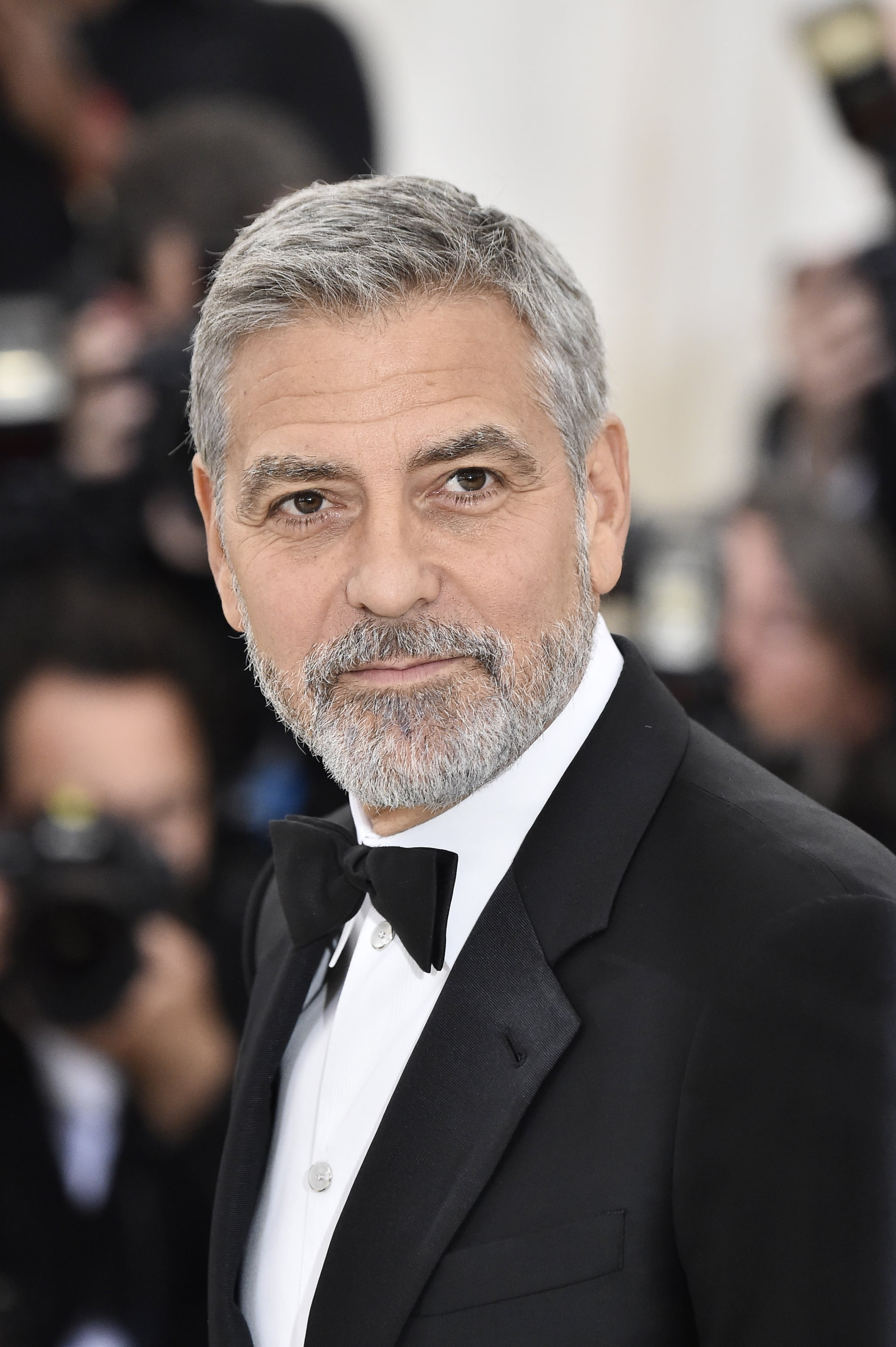 NEW YORK, NY - MAY 07:  George Clooney attends the Heavenly Bodies: Fashion & The Catholic Imagination Costume Institute Gala at The Metropolitan Museum of Art on May 7, 2018 in New York City.  (Photo by Frazer Harrison/FilmMagic)