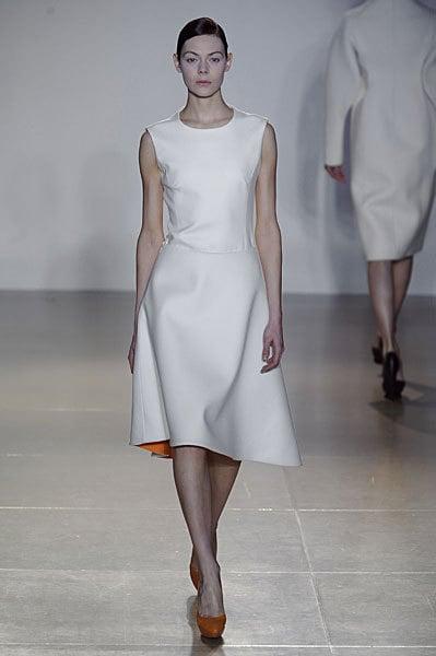 Jil Sander Fall 2009: So Beautiful, Model Cries on the Runway