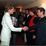 David Bowie and Princess Diana