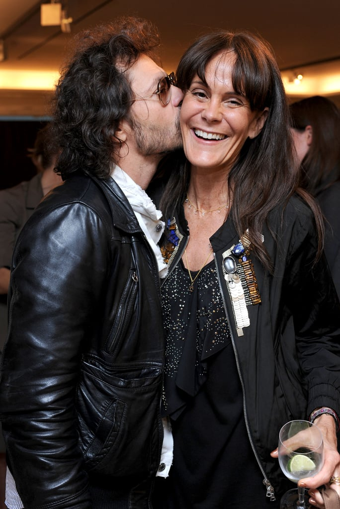 Olivier Zahm and Julie Gilhart