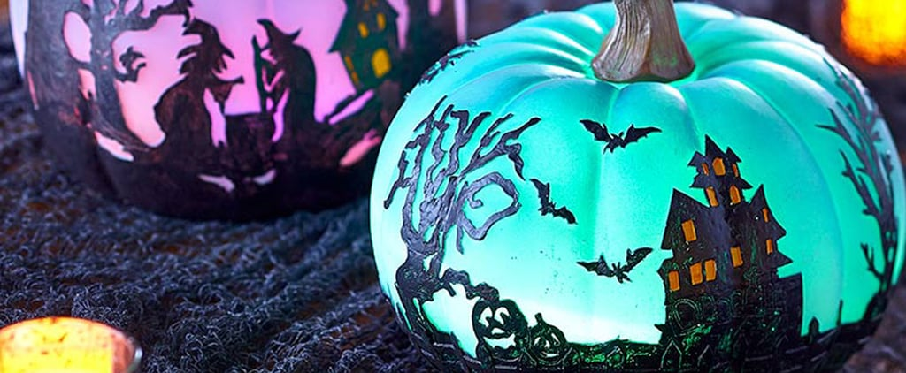 Colour-Changing Halloween Pumpkins