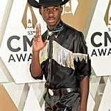Lil Nas X at the 2019 CMA Awards