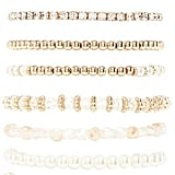 Faux Pearl Stretch Bracelet Set