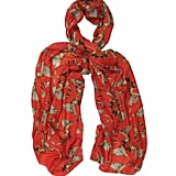 Ballet print scarf (£110) by Lily and Lionel.