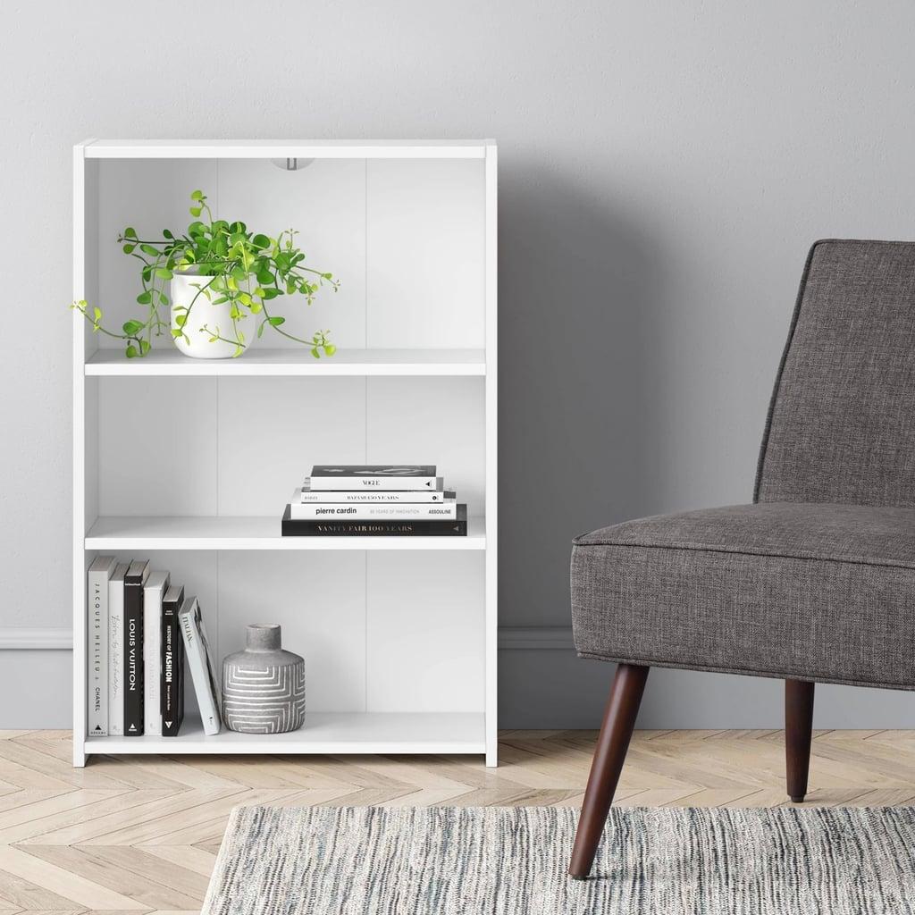 3 Shelf Bookcase By Room Essentials Best Target Furniture