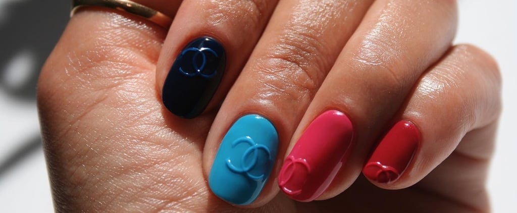 Chanel Logo Embossed Nail-Art Design: How-To