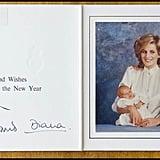 بطاقة من تشارلز وديانا، 1984