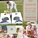 POPSUGAR Moms has rounded up some amazing wedding activities just for kids, including scavenger hunts and I Spy, outdoor games, and favor kits that might just keep kiddos at the table during dinner.