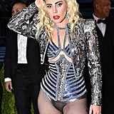 Lady Gaga's Hair and Makeup at the 2016 Met Gala