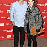Xavier Samuel posed with Emily Browning on the red carpet during the premiere of Two Mothers on Friday.