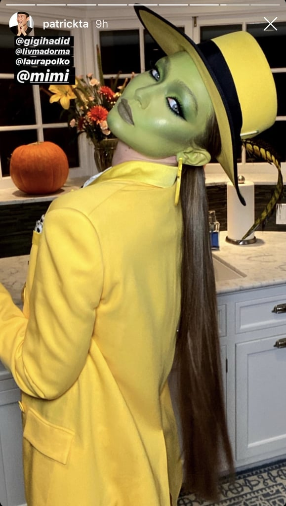 Gigi Hadid S The Mask Halloween Makeup Popsugar Beauty Photo 4