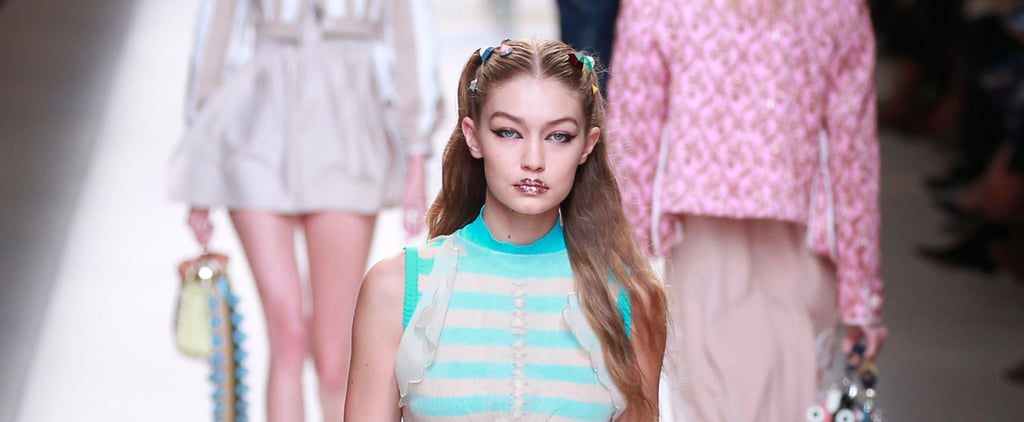 Stripes, Sheer, Babydoll Vibes — Fendi's Spring Collection Has It All