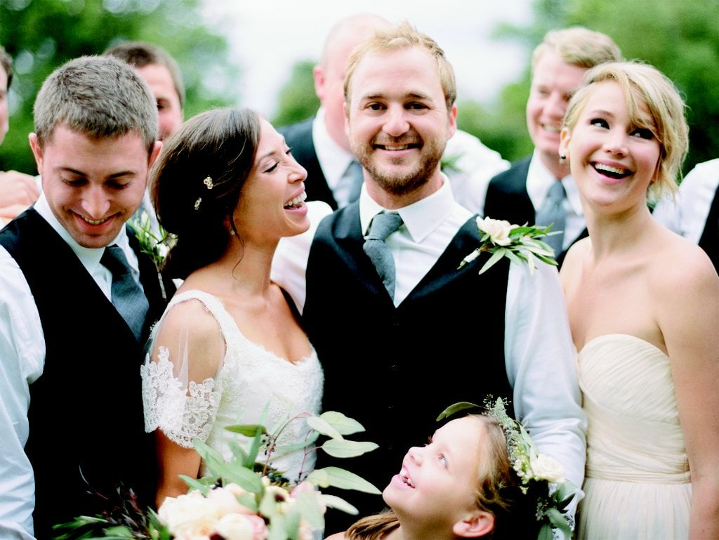 Jennifer Lawrence served as a bridemaid for her older brother Blaine and his now-wife, Carson Massler, at the couple's wedding ceremony in Kentucky back in October 2014.
