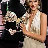 2012: Alessandra Ambrosio in the Floral Fantasy Bra
