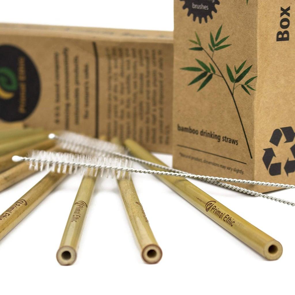 Primal Ethic Reusable Bamboo Drinking Straws